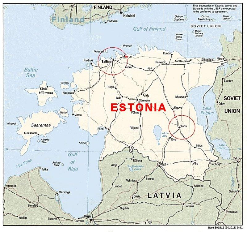 Estonia - Where is estonia